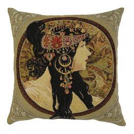 Mucha, Byzantine Ladies - Brunette