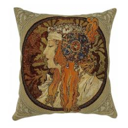 Mucha, Byzantine Ladies - Redhead