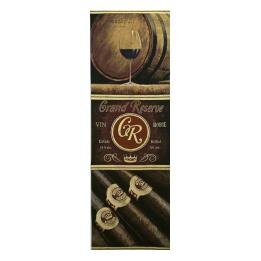 Cigars & Red Wine #031 Wall hanging