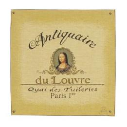 Antiquaire (Mona Lisa) - Clearance Cushion
