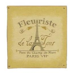 Fleuriste (Eiffel Tower) - Clearance Cushion
