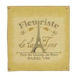 Fleuriste (Eiffel Tower) - Clearance Cushion