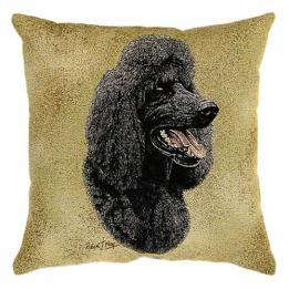 Portrait Dog - Poodle (Black)