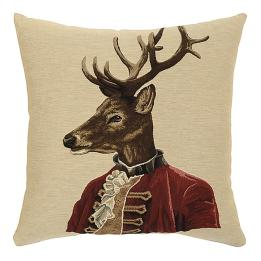Deer in Jackets - Reginald Red Jacket