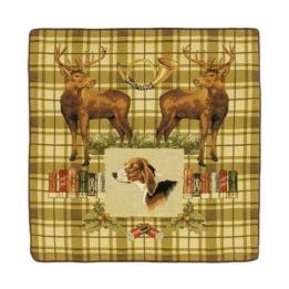 Dog & Stags -Clearance Cushion