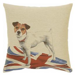 Dogs on Flags - Jack Russell