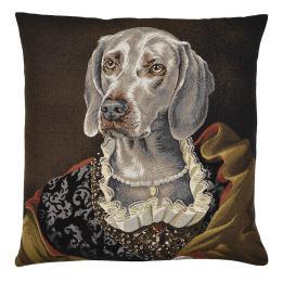 Edith (Weimaraner), Square Cushion