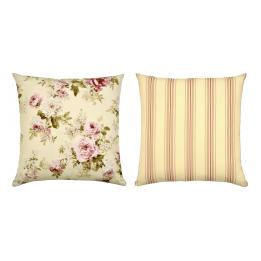Emily (Floral/Stripe) Cushion