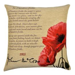 Flanders Fields, Square Cushion