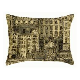 French Architecture Coordinate Rectangle - Clearance Cushion