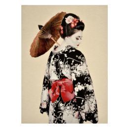 Geisha Wall Hanging