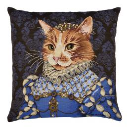 Ginger (Cat), Square Cushion