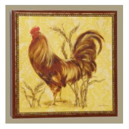 Roosters - Golden Plumage