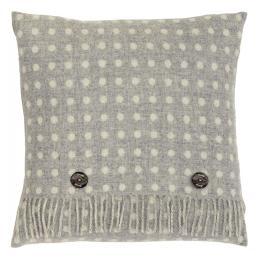 Grey Spot Cushion