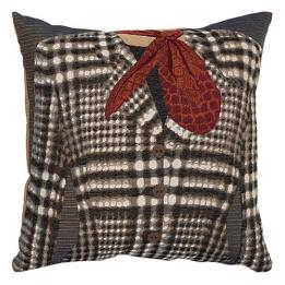 Grey/White Check - Clearance Cushion