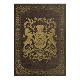 Heraldic Wall Hanging - Chocolate