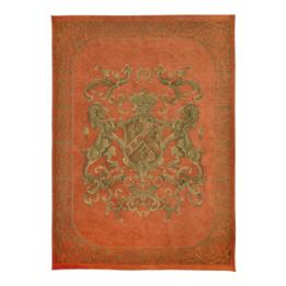 Heraldic Wall Hanging - Orange