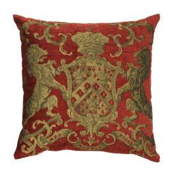 Heraldic Cushion - Red (plain)