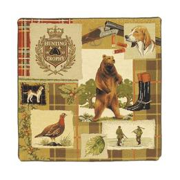 Hunting Bear - Clearance Cushion