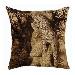 Leopard in Tree - Clearance Cushion