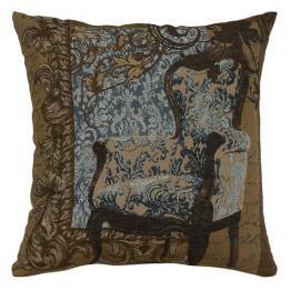 Louis XVI Chair Blue - Clearance Cushion
