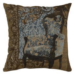 Louis XVI Chair Blue - Clearance Cushion
