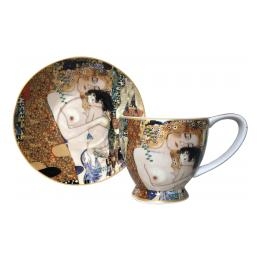 Three Ages of Women (Klimt), Cup & Saucer Giftbox Set