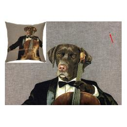 Musical Dogs - Cello (S&S), Cushion