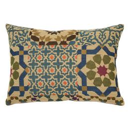 Persian Geometric Rectangle - Clearance Cushion