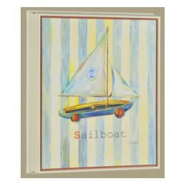 Alphabet - Sailboat