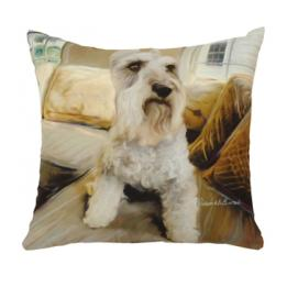 Schnauzer - Clearance Cushion