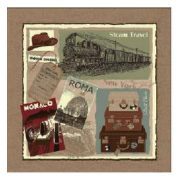 Steam Travel - Clearance Cushion