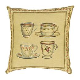 Tea Cups - Clearance Cushion