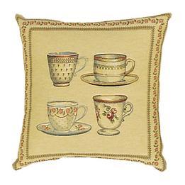 Tea Cups - Clearance Cushion