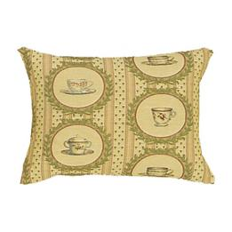 Tea Time Coordinate Rectangle - Clearance Cushion