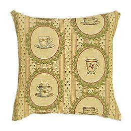 Tea Time Coordinate Square - Clearance Cushion
