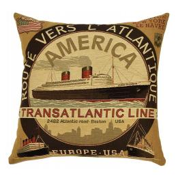 Transatlantic Lines - Brown Transatlantic Line