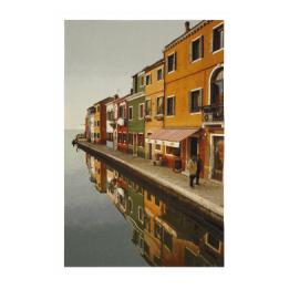 Village Reflections - Wall Hanging
