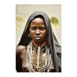 African Tribeswoman Wall Hanging