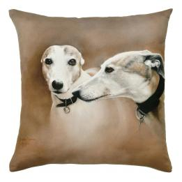 Watercolour Dogs - Greyhounds (Gilbert & Gretel)