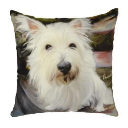 Westie - Clearance Cushion