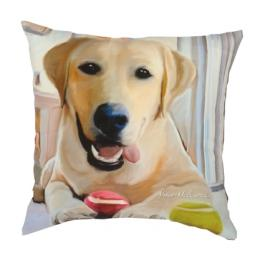 Yellow Labrador - Clearance Cushion