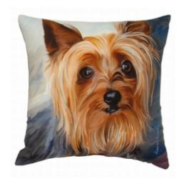 Yorkie - Clearance Cushion