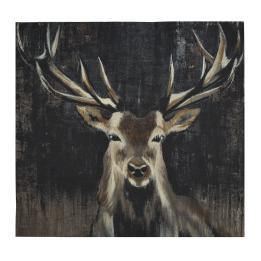 Highland Buck Wall Hanging